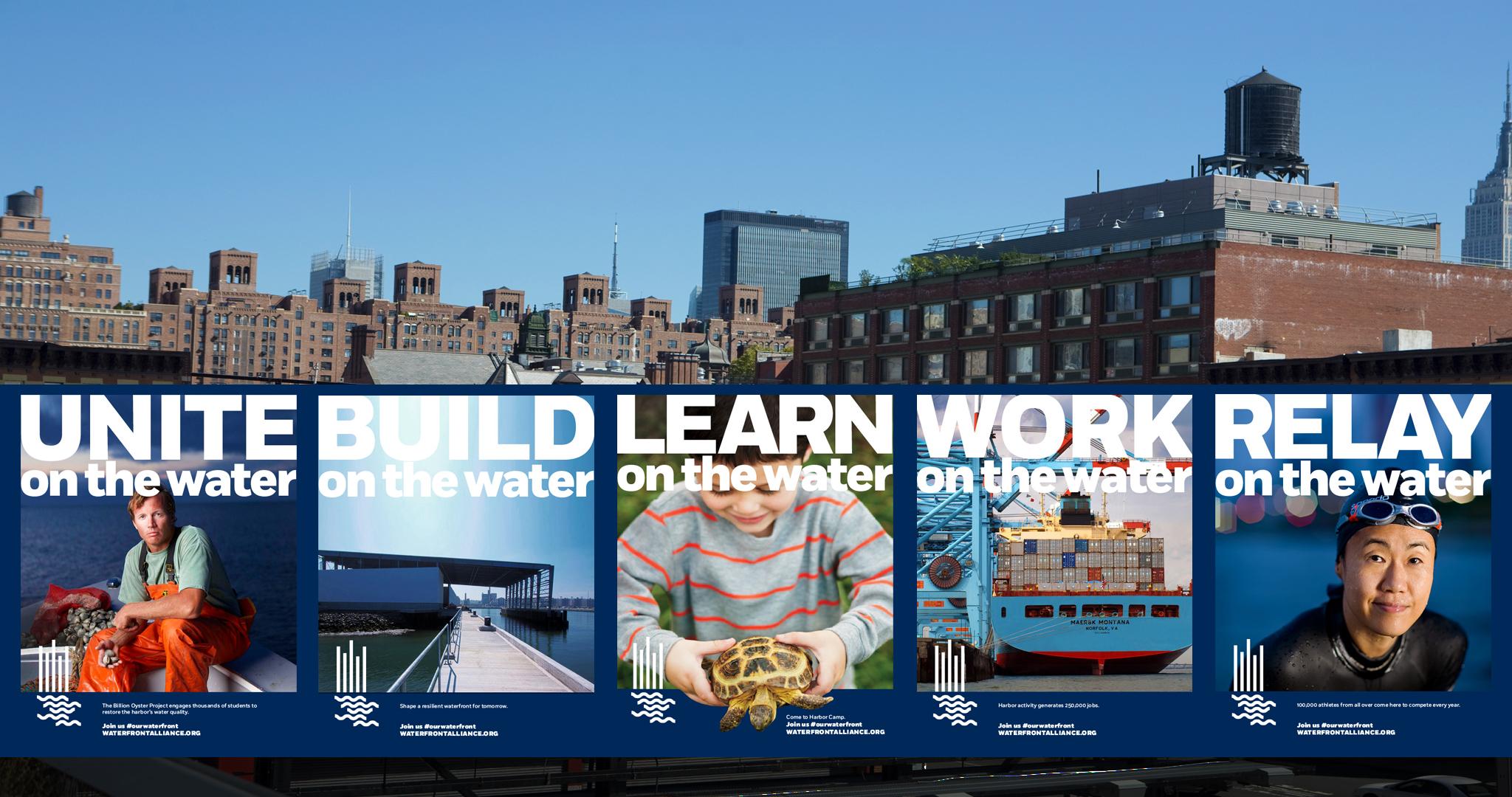 Waterfront Alliance Branding